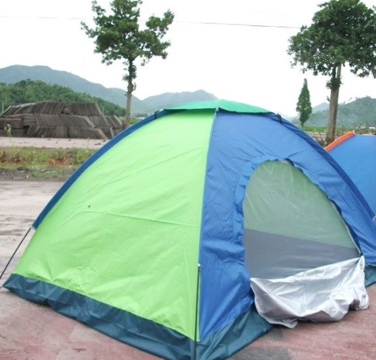 6 Person Picnic Hiking C&ing Portable Dome Tent For Waterproof With Bag (220 x 250 x 150 cm) & 6 Person Picnic Hiking Camping Portable Dome Tent For Waterproof ...