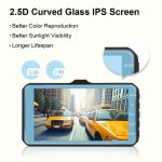2.5D Curved Glass IPS Screen