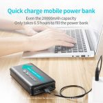 Quick charge mobile power bank