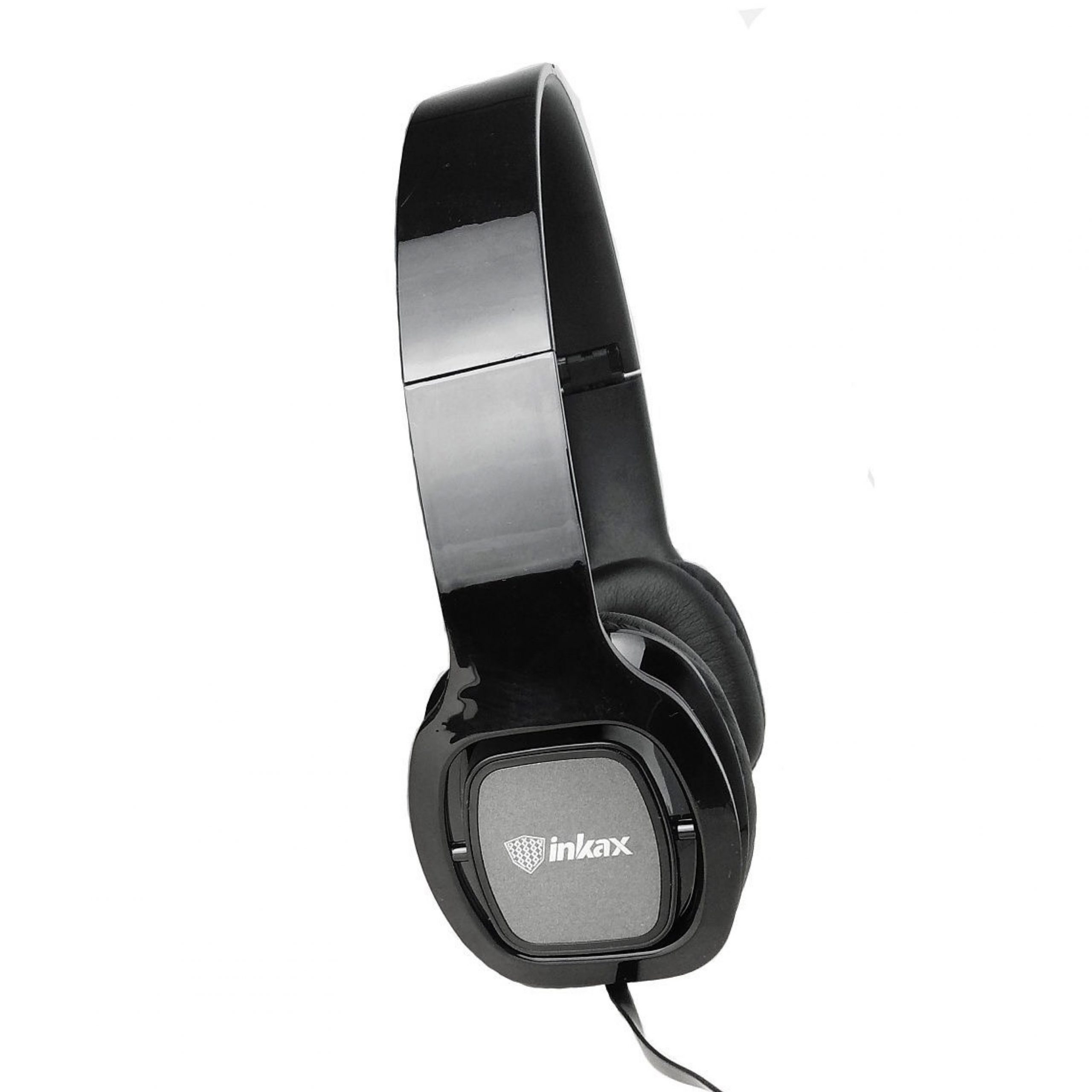 Inkax WH-01 wired headphones with mic on wire / 73745 – Acinate Bazzar