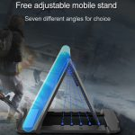Free adjustable mobile stand