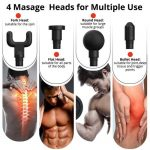 4 Masage Heads for Multiple Use