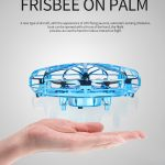 FRISBEE ON PALM