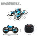 RC Drone 170x151x67mm6.68×5.93×2.63in